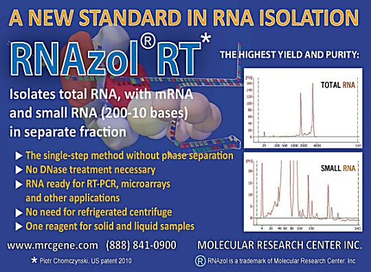 Breakthrough in RNA Isolation!